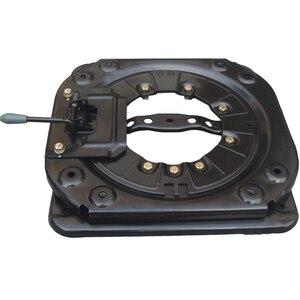 Image 1 - Heavy duty obrotowy z 4 way siedzenia samochodowe gramofony data data powrotu (RV krzesło obrotowa podstawa Mpv siedzenia podstawka obrotowa
