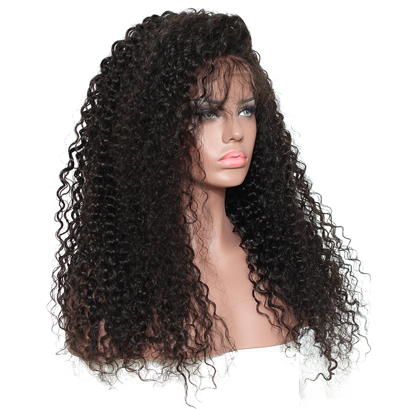 Curly Human Hair Wig 250 Density Lace Front Human Hair Wigs For Women Black Pre Plucked Brazilian Lace Frontal Wig Prosa Remy