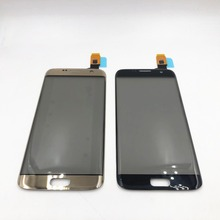 100% Original 5.5 pouces écran tactile pour Samsung Galaxy S7 Edge G9350 G935 G935F écran tactile numériseur capteur avec Logo