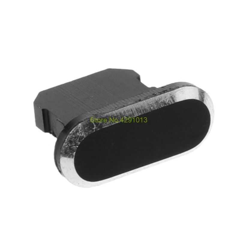 Toz Tak Stoper USB şarj portu Toz Geçirmez Kapak Koruyucu Metal Apple iPhone 8 X için XR Xmax Akıllı Telefon Aksesuarları