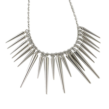 Crystal Beam Necklace