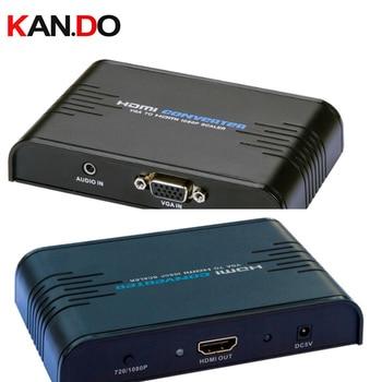 352a VGA+Audio to HDMI 1080P Scaler vga TO hdmi converter HDMI video converter upscale VGA to digital HDMI фото