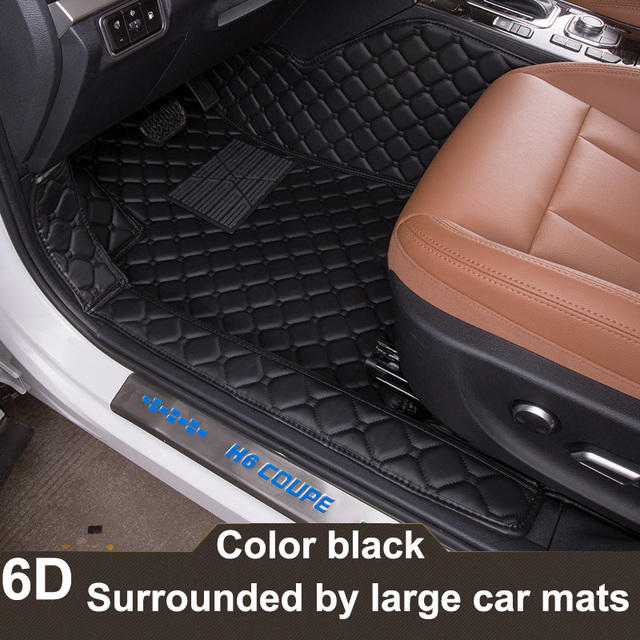 Newest Personality Pure Handmade D Full Surround Cover Car - Audi a4 car mats