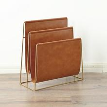 Magazine-Rack Stand-Display Newspaper Bookshelf Nordic for Home Office Placement Creative
