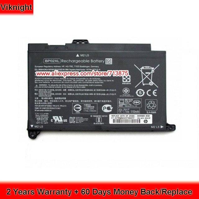 Véritable BP02XL Batterie Pour HP Pavilion 15 849909 850 849569 421 ...