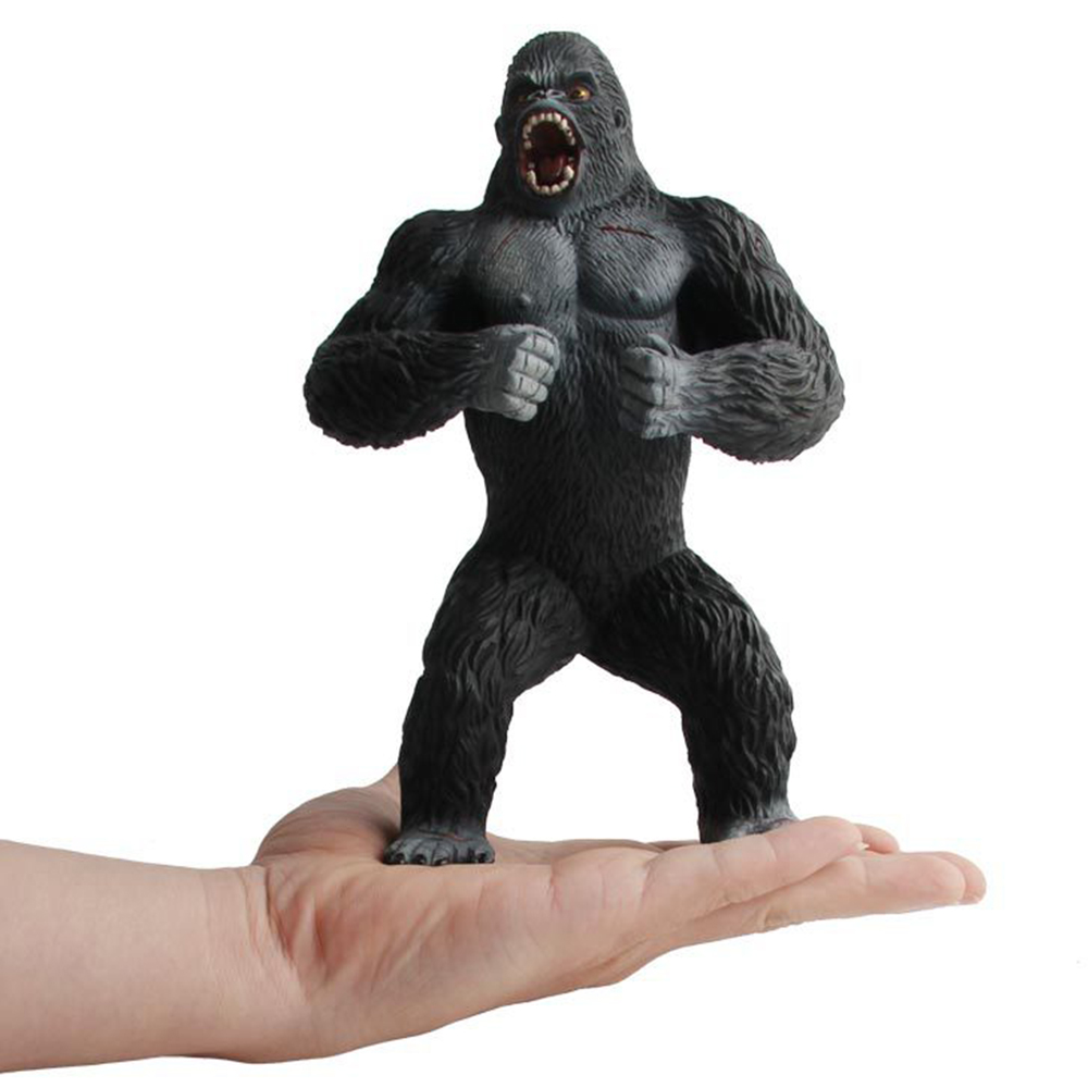 Big Size Animal Plastic Model Simulation Action Figures Chimpanzees Gorillas Toys Figure Educational Toys Gifts for Kids Child