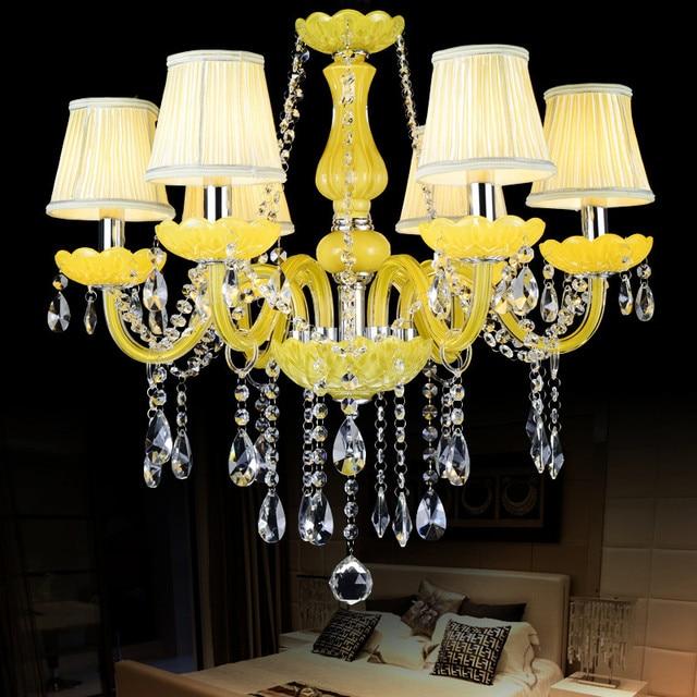 Luci Lampadario di cristallo Lustre para sala Moderna sala da ...