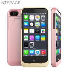 NTSPACE Ultra Thin Power Bank Charging Case For iPhone 6 6s 7 8 Battery Charger Cases Plus Extenal