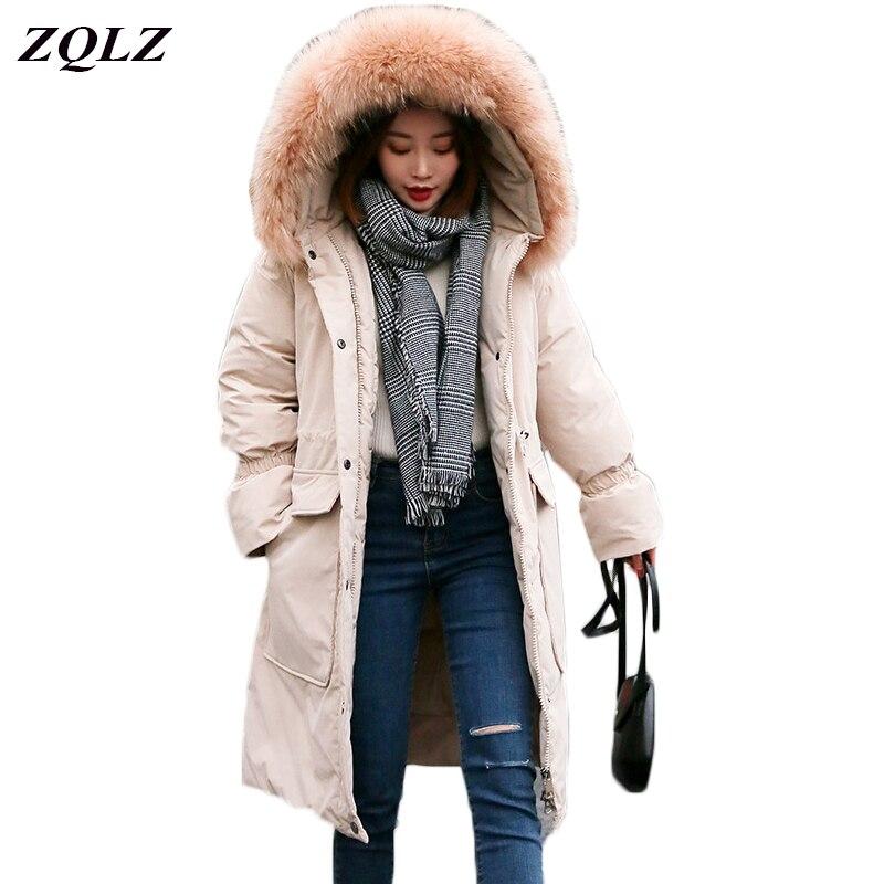 grande vente 3f6b7 bb217 noir gris jaune Bas D'hiver Mujer Épaississement Parka ...