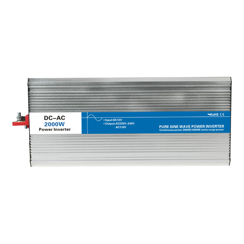 2000w pure sine wave inverter DC 12V/24V/48V to AC 110V/220V tronic power inverter circuits grid tie off cheap 12 24 48 V