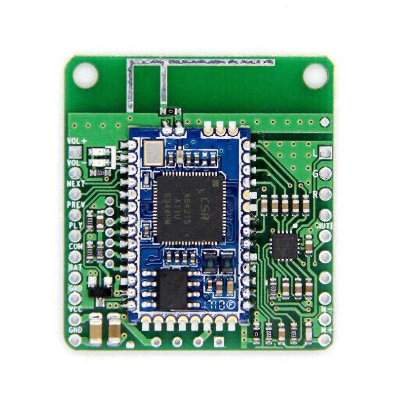 DC 12 V/5 V CSRA64215 APTXLL Música Lossless Hifi Bluetooth 4.2 Placa do Receptor de Áudio Receptor Bluetooth Car