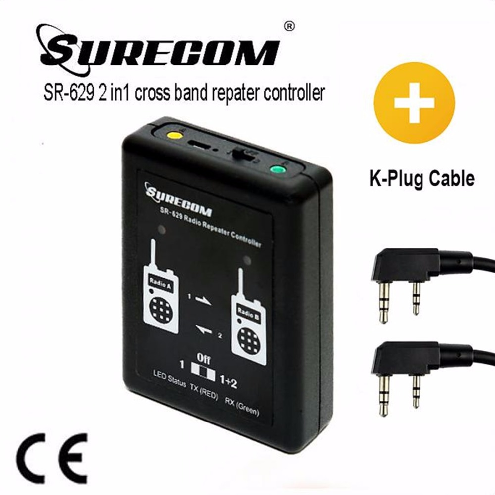 SR 629 2 in 1 Duplex Repeater Controller with Kenwood UV5R DM5R cable for Kenwood TK