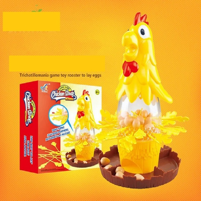 Practical Jokes Funny Patry Game Chicken Drop Falling Egg Learning Toys Desktop Best Gift For Children D248