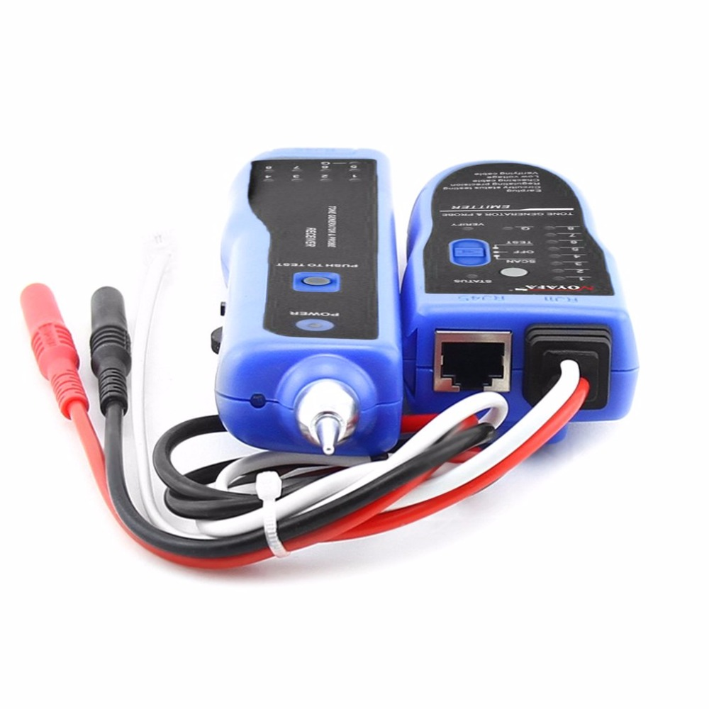 Line Finder Wire Tracker Probe Tone Generator Kit Sniffer Bnc Telephone Network Lan Tv Cable Electric Tester Due To The Manual Measurement And Different Methods Please Allow 1 3cm Deviationthanks