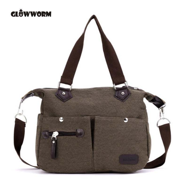 2018 Fashion Big Women Canvas Bag Ladies Shoulder Bags Handbags Women Famous Brands Large Captain Casual Tote Bags Sac A Main european and american style fashion lady genuine leather handbags women famous brands large captain casual tote bags sac a main