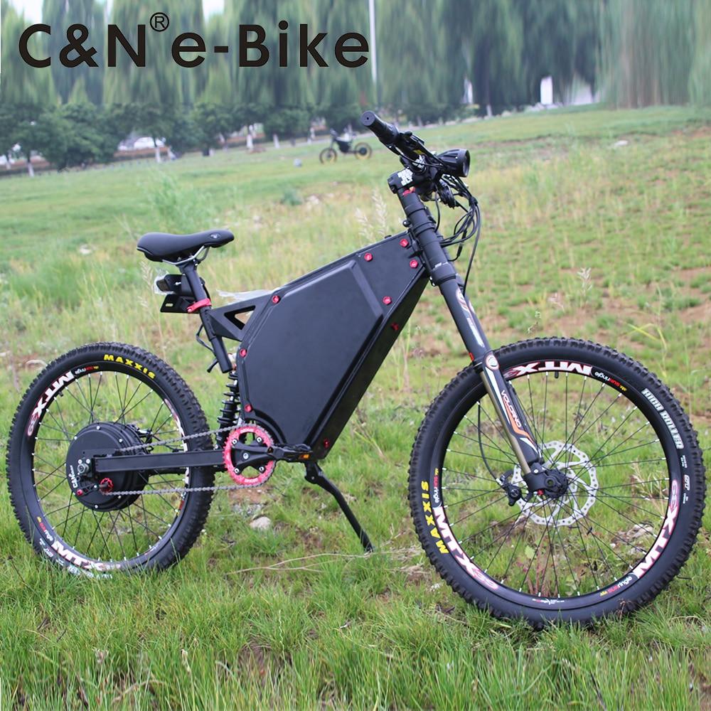 2018 Popular 72v 5000w Enduro Ebike Electric Bicycle Mountain Bike