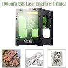 cnc router High Power laser engraving machine 3D 1000mW USB Laser DIY Engraver Printer Automatic Engraving Cutting Machine