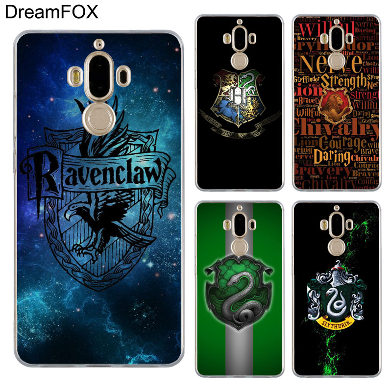 DREAMFOX L589 Harry Potter College Soft TPU Silicone Case Cover For Huawei Mate G 7 8 9 10 Nova 2 Lite Pro Plus in Fitted Cases from Cellphones Telecommunications