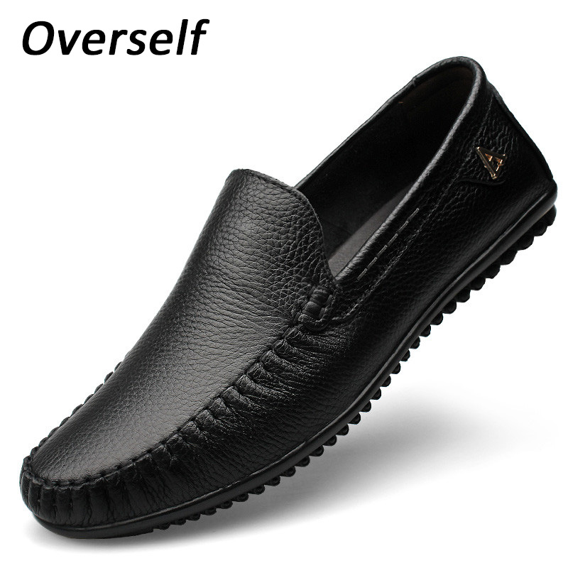 Men Casual Shoes 2018 New Fashion Men Shoes Genuine Leather Men Loafers Summer Breathable Moccasins Slip On Men's Flat Plus Size big size 46 summer breathable mesh loafers men casual shoes genuine leather slip on brand fashion flat shoes soft comfort cool