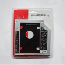 Universal Aluminum Plastic 9.5mm 12.5mm HDD SSD SATA caddy For 2.5″ Hard Disk Driver Case Enclosure DVD CD-ROM Optibay