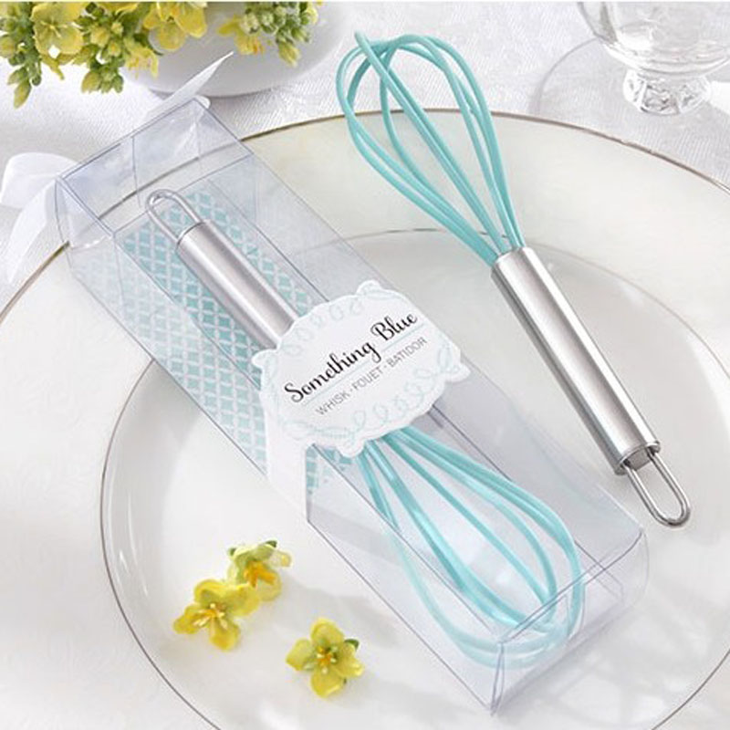 New Arrival Wedding Favors Party Shower Favors and Gifts Something Blue Kitchen Whisk Egg Beater 20pcs