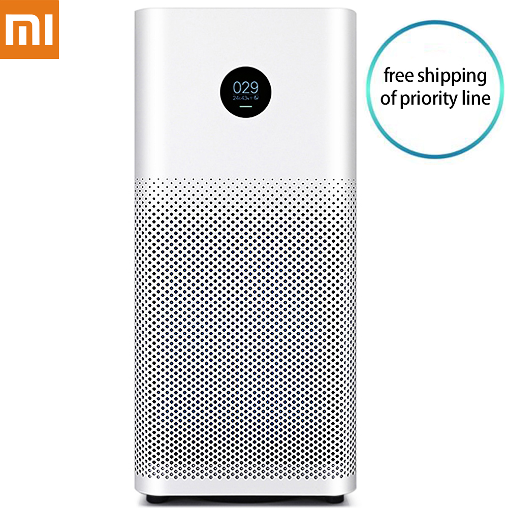 Оригинал Сяо mi Smart Воздухоочистители 2 S OLED Дисплей смартфон mi приложение Home Управление дыма пыли специфический запах Cleaner