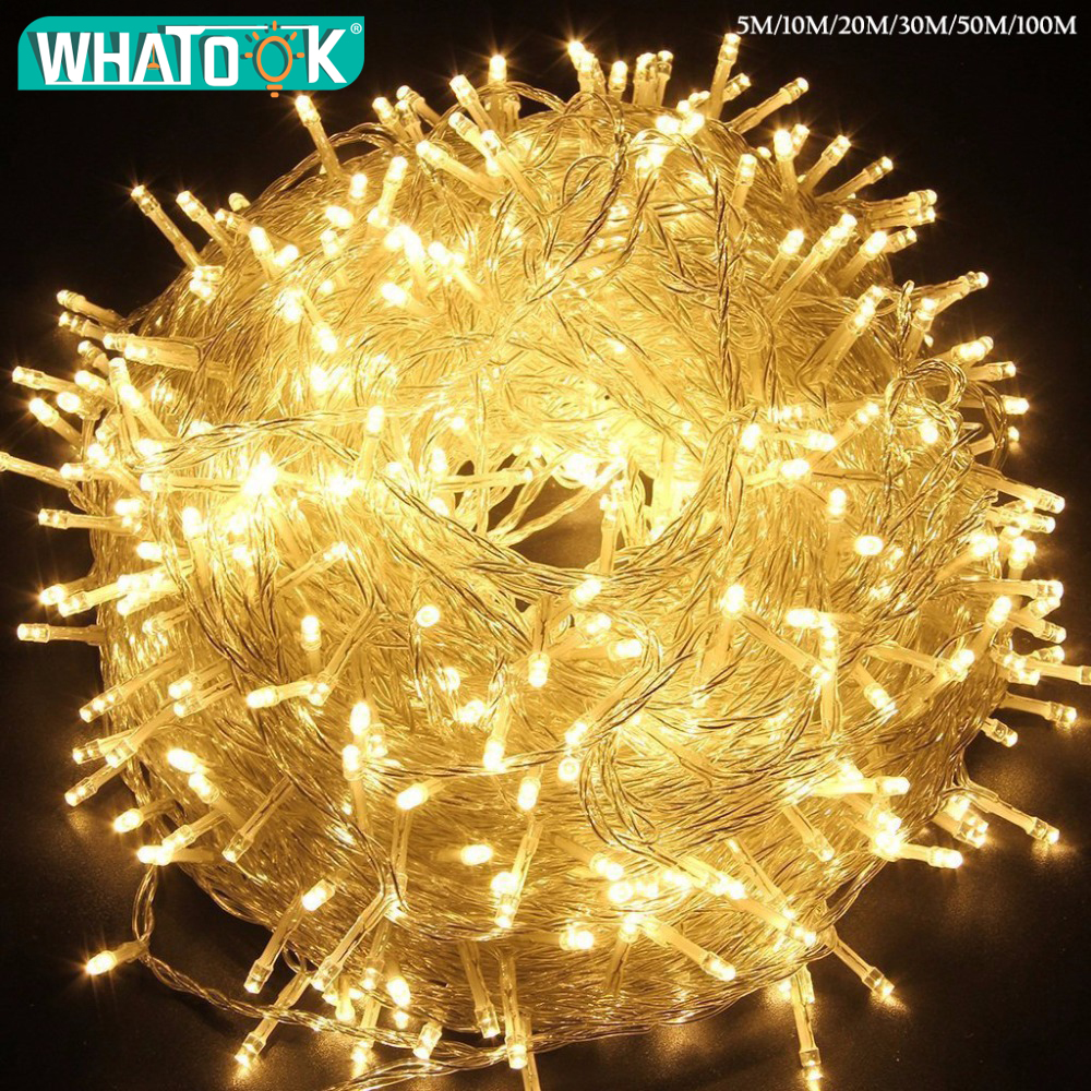 2M String Fairy Light 20 LED Battery Operated Xmas Lights Party Wedding SM JH