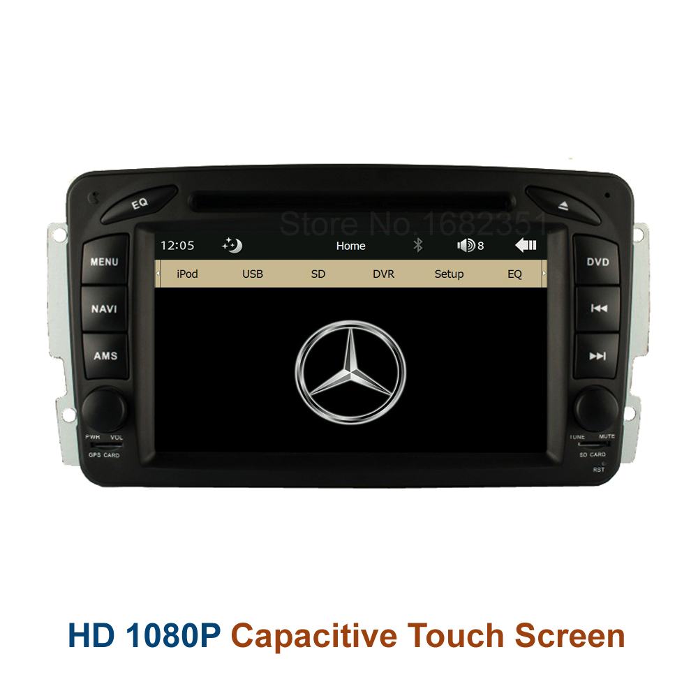 Original UI font b Car b font DVD Radio Player GPS for Mercedes Benz W163 W168
