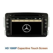 Original UI Coche DVD Player Radio GPS para Mercedes/Benz W163 W203 W168 W170 W210 W463 E300 E320 E420 C208 C209, BT Canbus USB