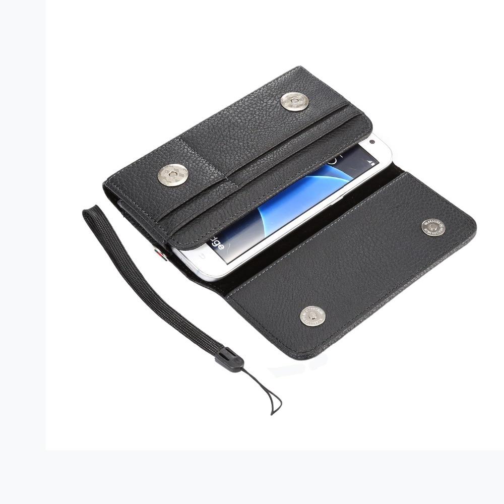 Beducht Case Voor Huawei Y9 (2018)/y7 Pro (2018)/nova 2i Horizontale Taille Holster Bag Met Kaartsleuven Magnetische Pouch Litchi Patroon Cover Koop One Give One