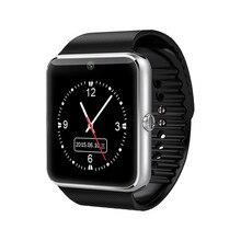 สมาร์ทดูGT08นาฬิกาซิงค์แจ้งเตือนสนับสนุนซิมการ์ดการเชื่อมต่อบลูทูธโทรศัพท์A Ndroid Smartwatchดีกว่าDZ09 GV18 T0