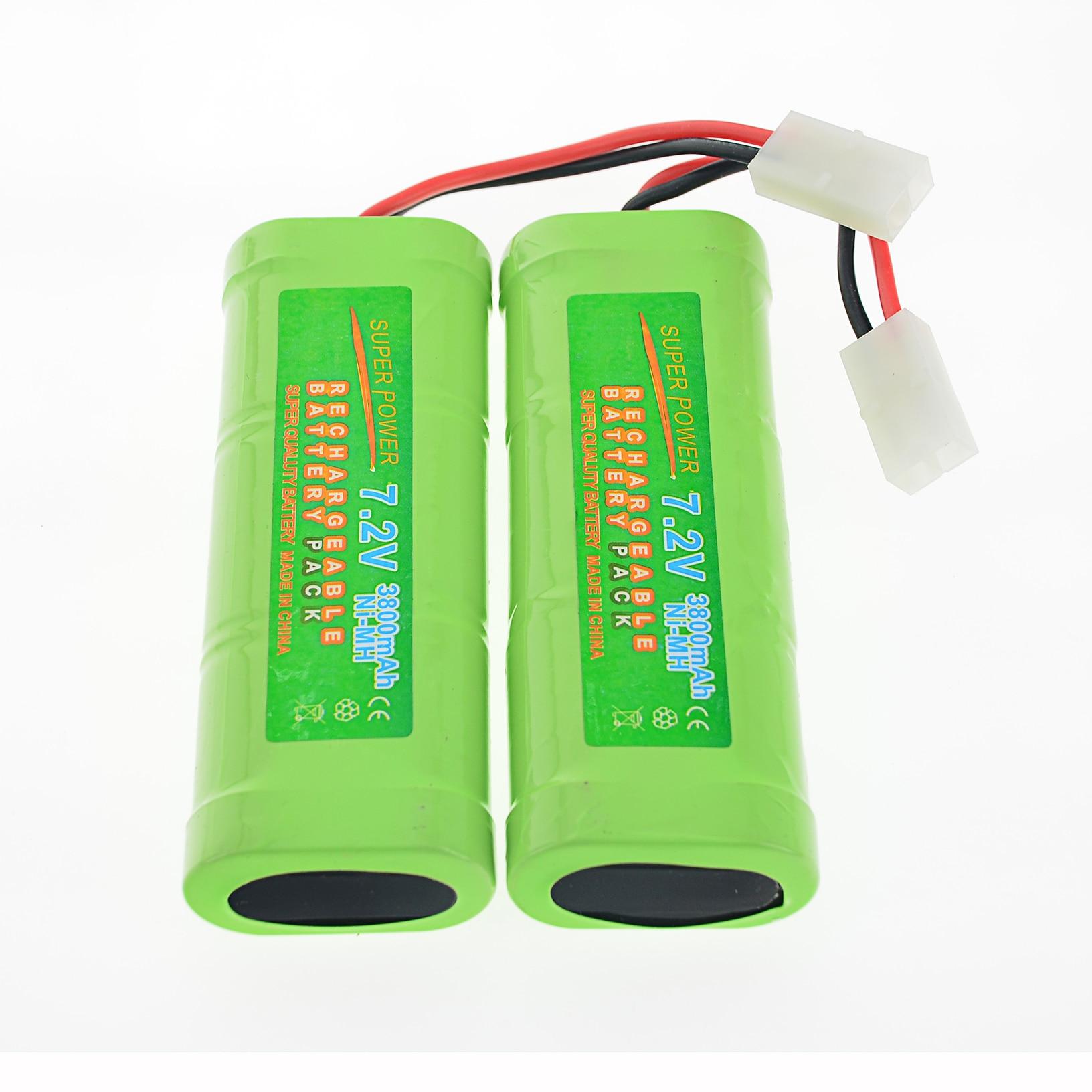 2/3/4/5 pcs 7.2 v 3800 mah Ni-Mh rechargeable Tamiya Plug USA batterie RC