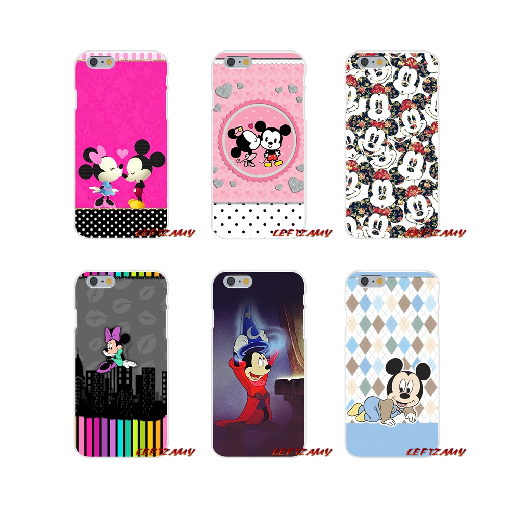 Zubehör Phone Cases <font><b>Covers</b></font> Für <font><b>Samsung</b></font> Galaxy A3 A5 A7 J1 J2 J3 <font><b>J5</b></font> J7 2015 <font><b>2016</b></font> 2017 <font><b>Mickey</b></font> Minnie maus Muster image