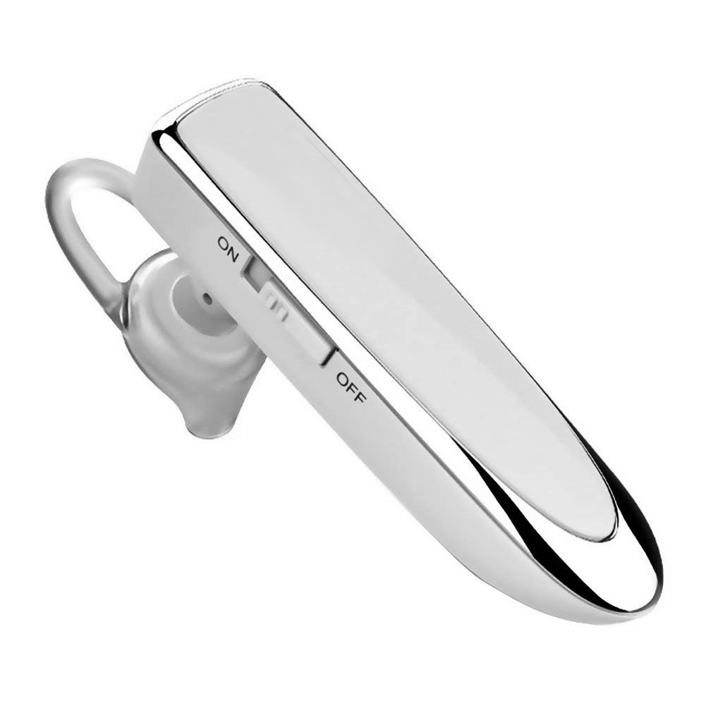Bluetooth Hands-free Cell Phone Earbud Business Earphone Wireless Stereo Headset Noise Cancelling Mic