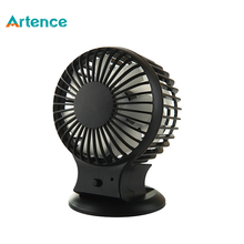 Hot Rechargeable Table Desk USB Fan With Lithium Battery Silent Mini Fan For Home Office Electric Computer Fans Double Blades