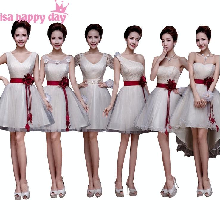 3552780db029 braid maid champagne tulle classy short bridesmaid v neck size 6 formal  dress wrap for girls 2019 braidmaid dresses B2692