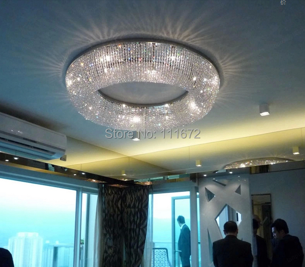 Us 210 8 15 Off New Luxury Ceiling Chandelier Crystal Led Light Modern Lighting For Hotel Home In Chandeliers From Lights