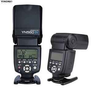Image 2 - Yongnuo cámara flash inalámbrica YN560 IV YN560IV 2,4G, para Nikon, Canon, Pentax, Olympus, Pentax, sony, DSLR
