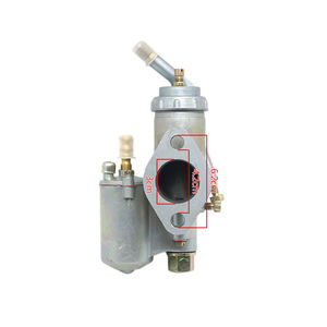 Image 2 - 100% מקורי CJ K750 דגם 1 pairs שמאל וימין קרבורטור PZ28 מקרה עבור bmw R1 M72 אוראל