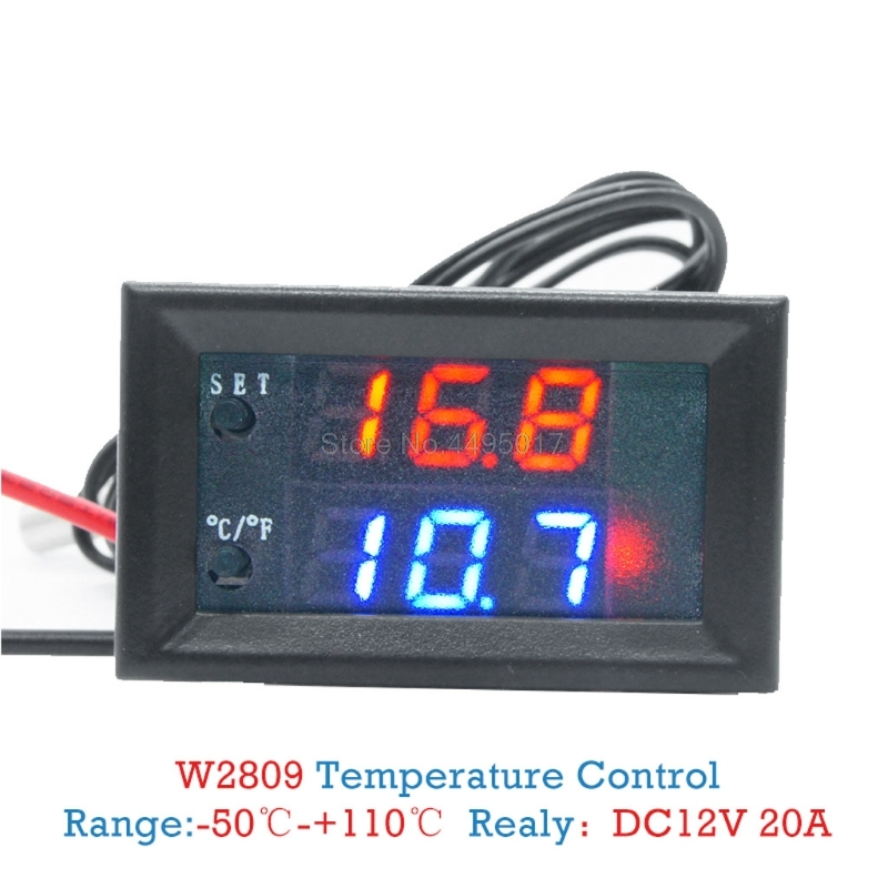 W3230 LCD 12V 20A Digital Thermostat Temperature Controller Meter Regulator