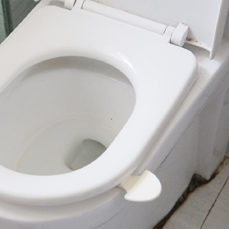 NEW Home Cute Toilet Seat Cover Lifter Handle Avoid Touching Hygienic