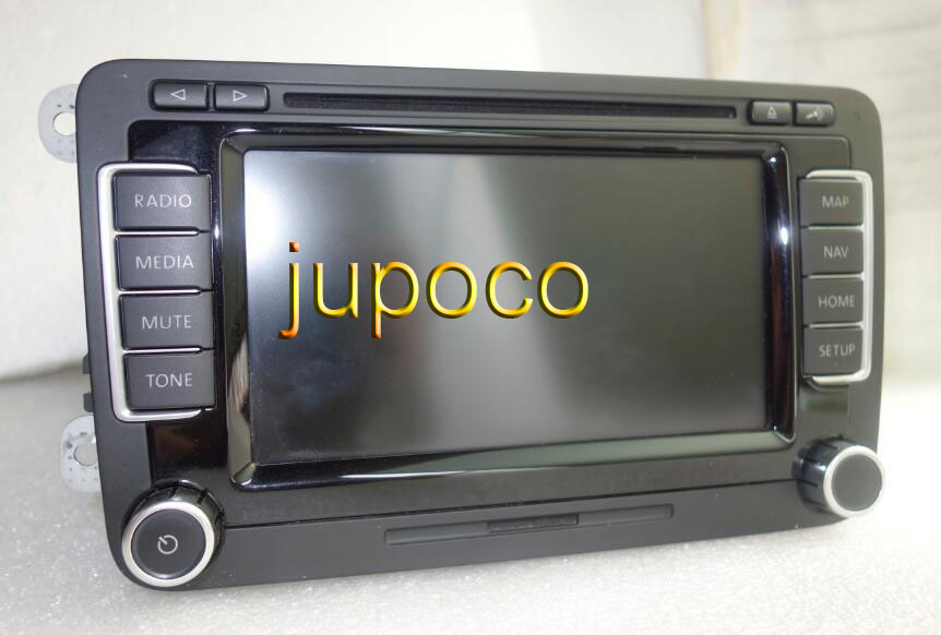Original RNS510 LCD SERIES 6CD CD PLAYER Radio Navigation 18C 035 225 3CD 035 682A A2C53373240 With ANTENNA PLUG цены