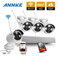 ANNKE 4CH 960P HD NVR Wireless IP Network CCTV Security Camera System wifi CCTV IP Cameras surveillance kit 1TB HDD