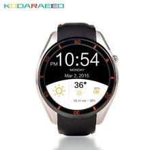 MTK6580 i3 Relógio Inteligente Android 5.1 Esporte Pulseira Cartão SIM 3G WIFI GPS Google Play Freqüência Cardíaca Smartwatch