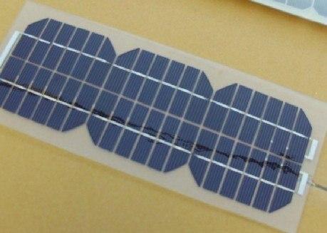4,5 Вт полугибкая монокристаллическая солнечная панель очень тонкая, легкая для наружного Diy, 12 В батарея и зарядное устройство