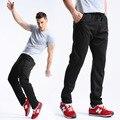 2017 Nuevos hombres Pantalones Casuales Pantalones Sueltos Con Cordón Elástico Harem Corredores Más del Tamaño Pantalones Sólido Gris Negro pantalones de Chándal Para Hombre de Algodón