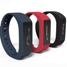 Excelvan I5 Plus Good Bracelet Bluetooth four.zero Waterproof Contact Display Health Tracker Well being Wristband Sleep Monitor Good Watch