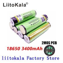2017 liitokala для Panasonic 18650 3400 мАч батареи защищены литий-ионный Перезаряжаемые батареи NCR18650B с PCB