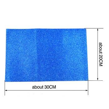 Foam Glitter 1.8mm 20 cm x 30cm 4kpl