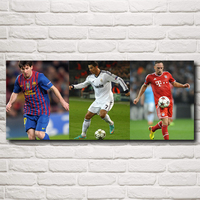 Cristiano Ronaldo Poster Football Madrid Wall World Cup Soccer Silk Art Posters 10x24 16x38 Inches Free
